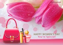 Free eCards, Free Women's Day ecards - You're Special,