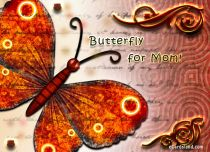 Free eCards - Butterfly for Mom,