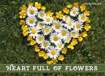 eCards Mother's Day Heart Full of Flowers, Heart Full of Flowers