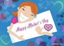 eCards Mother's Day My Joyful Wishes for Mom, My Joyful Wishes for Mom