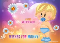 eCards Mother's Day Wishes for Mommy, Wishes for Mommy