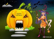 eCards  A Happy Halloween Wish