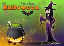 eCards  A Very Happy Halloween