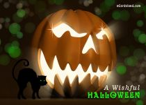 eCards  A Wishful Halloween,
