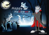 eCards Halloween Fun with Ghosts, Fun with Ghosts