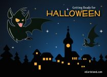 eCards  Getting Ready for Halloween,
