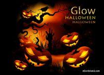eCards  Glow Halloween,