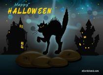 eCards Halloween Halloween Black Cat eCards, Halloween Black Cat eCards
