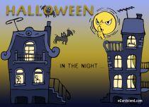 eCards  Halloween Card,