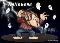 eCards - Halloween Ghosts,