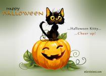 eCards  Halloween Kitty,