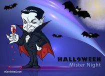 eCards Halloween Halloween Mister Night, Halloween Mister Night