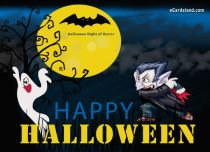 eCards Halloween Halloween Night of Horror, Halloween Night of Horror