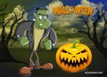 eCards  Halloween Scamp,