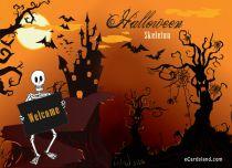 eCards Halloween Halloween Skeleton, Halloween Skeleton