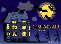 Free eCards - Halloween Wishes eCard,