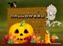 eCards  Happy Halloween Mummy,
