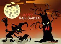 eCards Halloween Happy Halloween Night, Happy Halloween Night