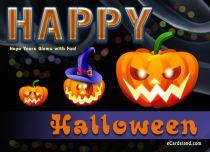 eCards Halloween Happy Halloween Wish, Happy Halloween Wish