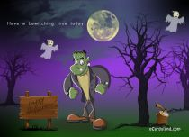 eCards Halloween Have a Bewitching Time Today, Have a Bewitching Time Today