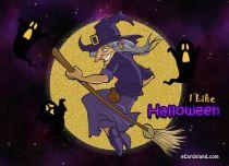 eCards  I Like Halloween,