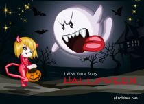 Free eCards - I Wish You a Scary Halloween,