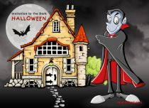 Free eCards Halloween - Invitation to the Dark,