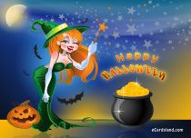 eCards Halloween Magical Halloween, Magical Halloween