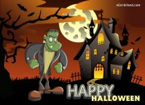 eCards Halloween Monster Halloween, Monster Halloween