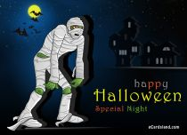 Free eCards Halloween - Special Night,