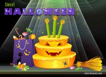 Free eCards, Halloween ecards free - Sweet Halloween Wishes For You,