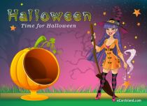 eCards  Time for Halloween,