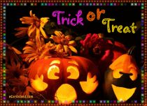 eCards  Trick or Treat,