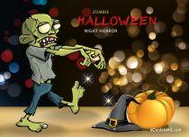 eCards Halloween Zombie Halloween, Zombie Halloween