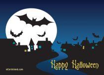 eCards Halloween A Happy Halloween Wish, A Happy Halloween Wish