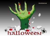 eCards Halloween Bloody Night, Bloody Night