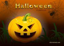eCards  Halloween Pumpkin,
