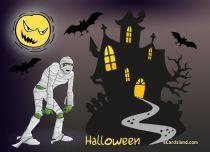 eCards Halloween Happy Halloween Mummy, Happy Halloween Mummy