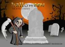 eCards  Fun At the Cemetery,