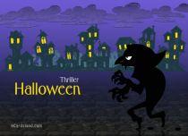 eCards Halloween Thriller Halloween, Thriller Halloween