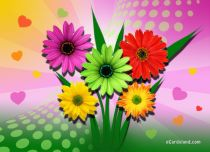 Free eCards Name Day - Bouquet for You,