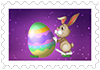 64.Easter eggs and rabbit